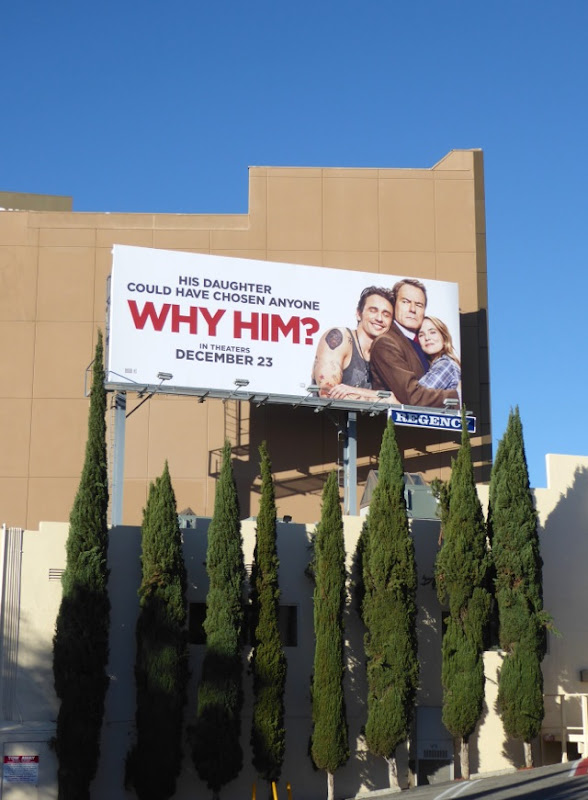 Why Him movie billboard