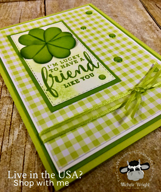Card, St Patrick, Love What You Do, Bokeh Dots,Wood Crate Framelits