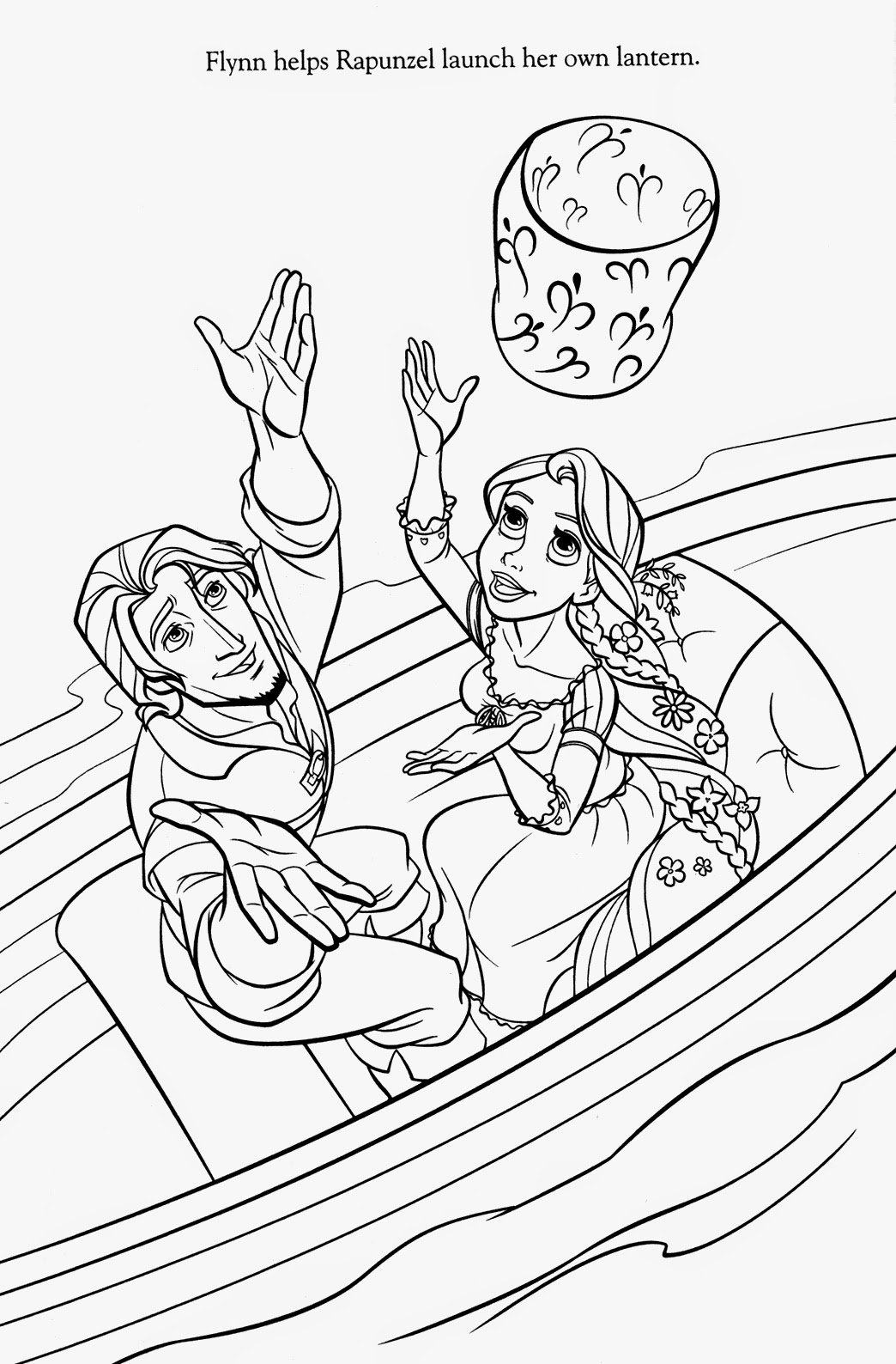 printable disney tangled coloring pages - photo#10