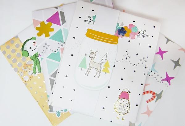 DIY : paquet cadeau pour carte cadeau