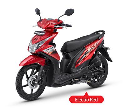 New Honda Beat Injeksi Hitam