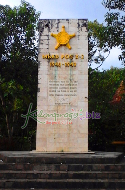 Monumen MBKD (Markas Besar Komando Djawa) Boro Banjarasri Kalibawang Kulon Progo Jogja.