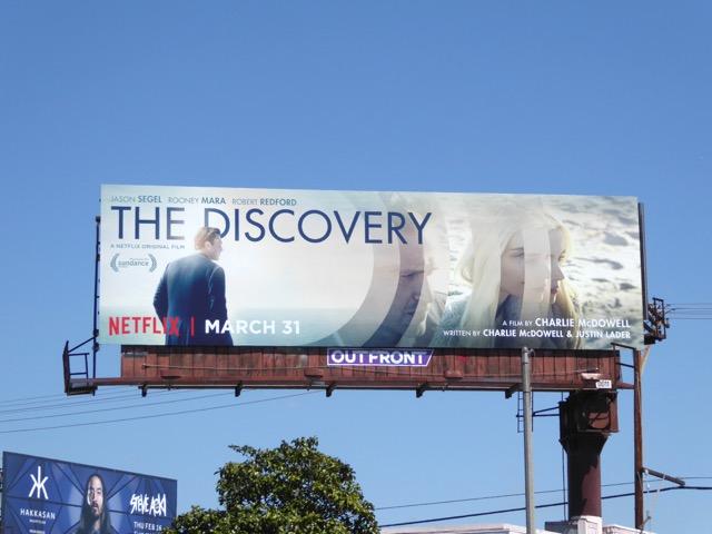 Discovery Netflix film billboard