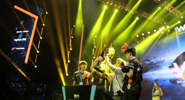 Filipino team TNC takes home almost Php 40M cash prize from WESG Dota 2 Tournament