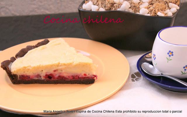 Kuchen Sureño De Frambuesa