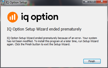 "How to Fix Error ""IQ Option Setup Wizard Ended Prematurely"" (Solved)"