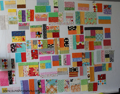 Scrap Vortex Quilt Along