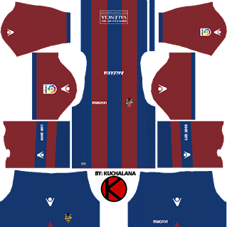 Levante UD 2017/18 - Dream League Soccer Kits