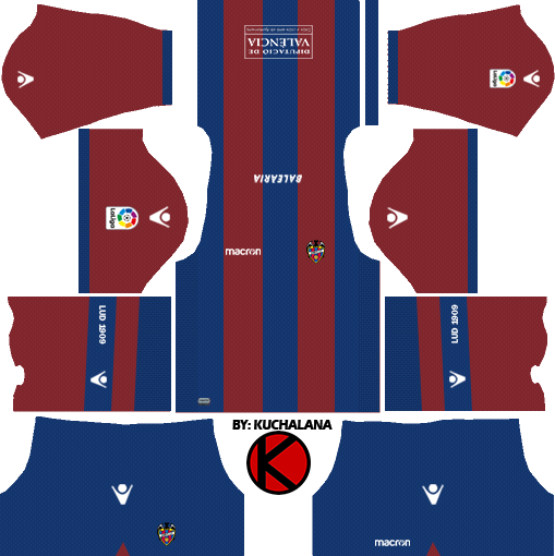 Levante UD 2017/18 - Dream League Soccer Kits