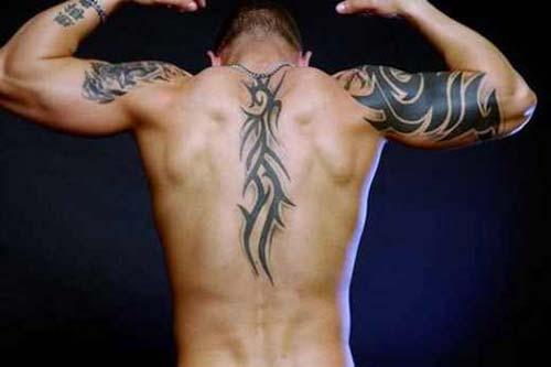 erkek tribal dövmeler man tribal tattoos 2