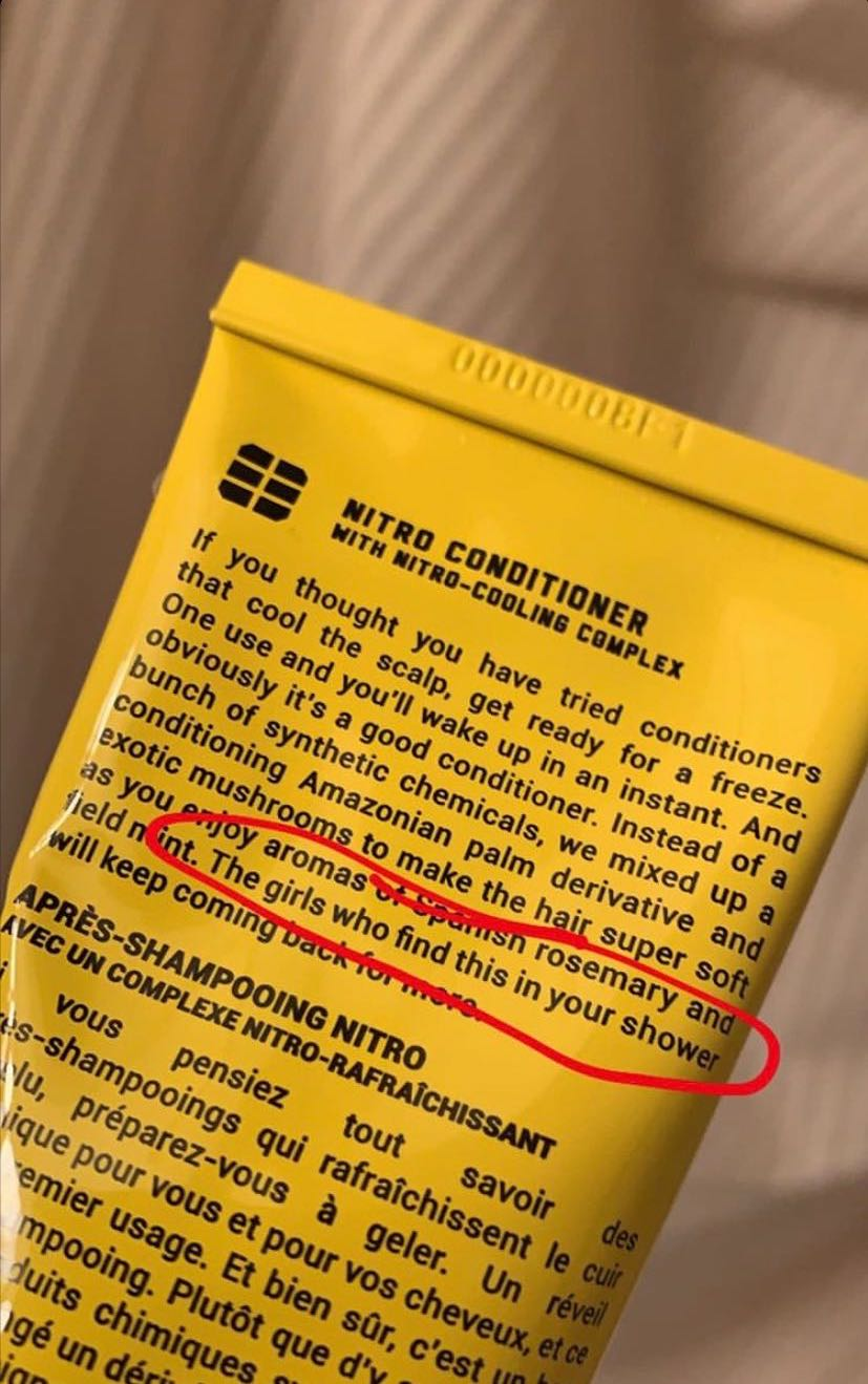 Tout Savoir Sur Le Cuir my conditioner micro-aggressed me this morning