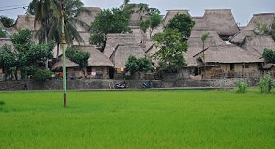 Tempat Wisata di Lombok dusun sade