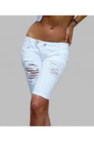 Pantaloni Scurti Bermuda SHEA Escape Star Jeans (Escape Star Jeans)