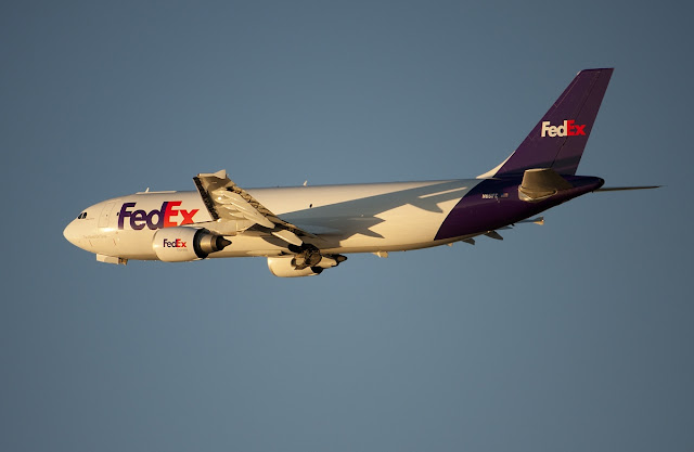 Final Livery of Airbus A300 Cargo of FedEx