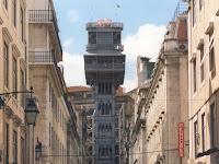 Elevador de santa Justa. Lisboa. Lisbon. Lisbonne. Portugal