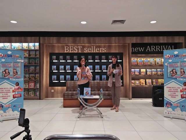 "INTIP YUK! TALKSHOW & BOOK LAUNCHING ""GREAT MOM, STRONG SON"" (REVIEW)"
