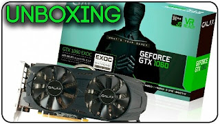 GALAX Geforce GTX 1060 6GB DDR5 EXOC (EXTREME OVERCLOCK)