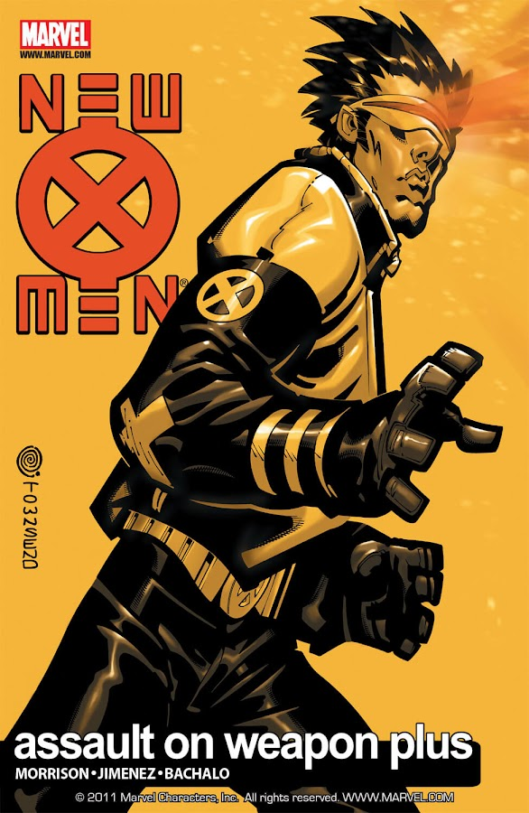 new x-men assault on weapon plus