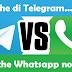 Le 5 chicche che Telegram ha rispetto a Whatsapp