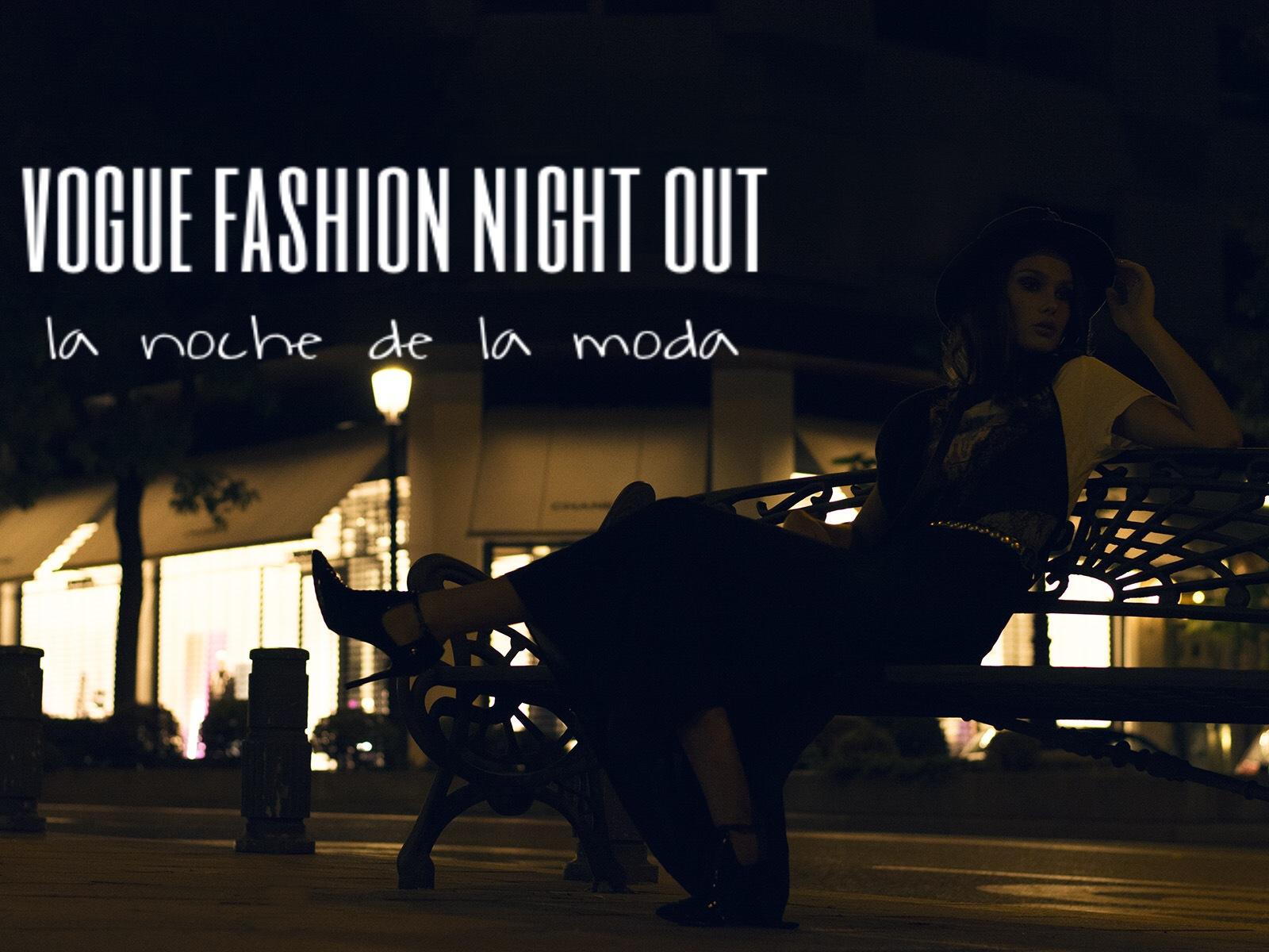 b762c3e261 El próximo jueves 10 de septiembre llega como cada año la Vogue Fashion  Night. Una noche en la que ninguna fashionista se puede quedar en casa.