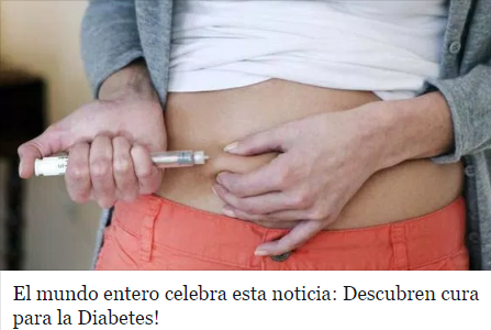 El Mundo Entero Celebra esta Noticia: Descubren Cura para la Diabetes‼