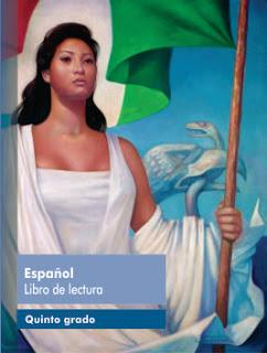 Español Libro de lectura Quinto grado Ciclo Escolar 2016-2017