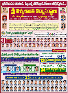 SRI VISWASANTI EDUCATIONAL INSTITUTES VUYYURU