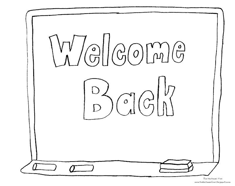 back coloring pages | Back To School Coloring Pages ~ Top Coloring Pages