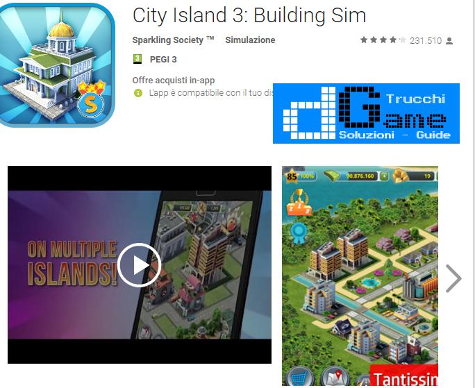 Trucchi City Island 3 – Building Sim  Mod Apk Android v1.8.0