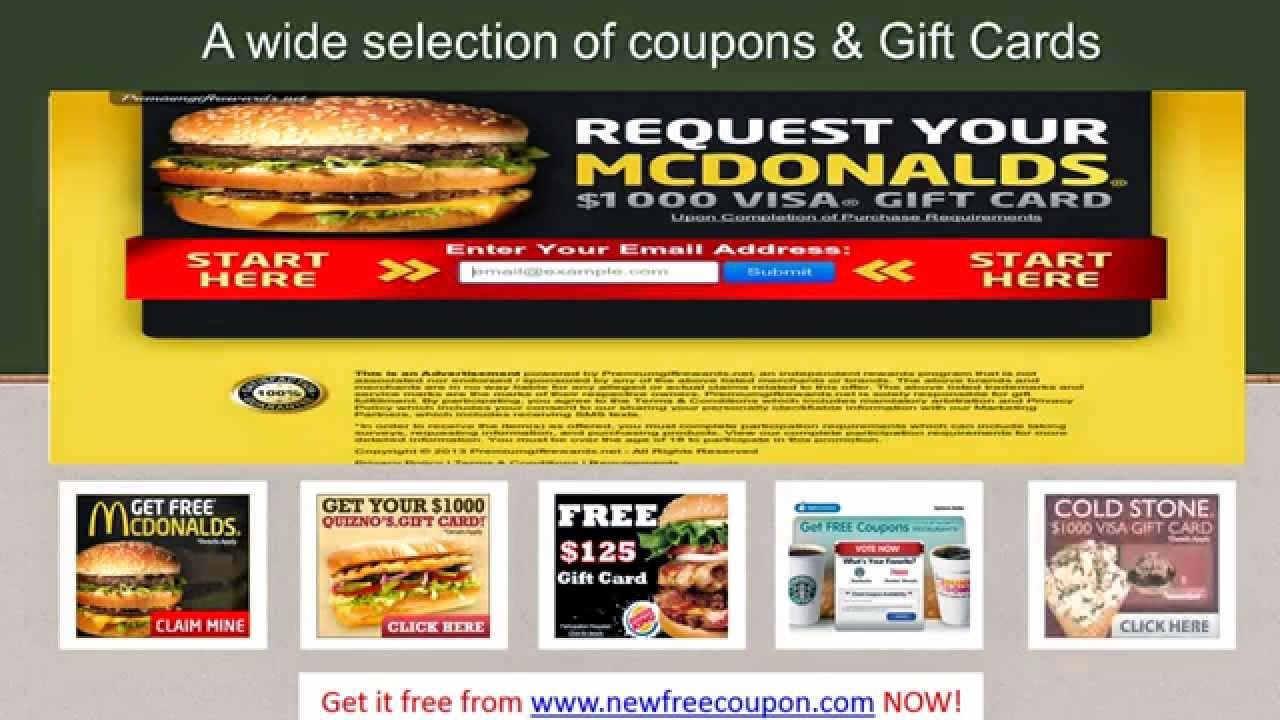 Discount coupons for mcdonalds