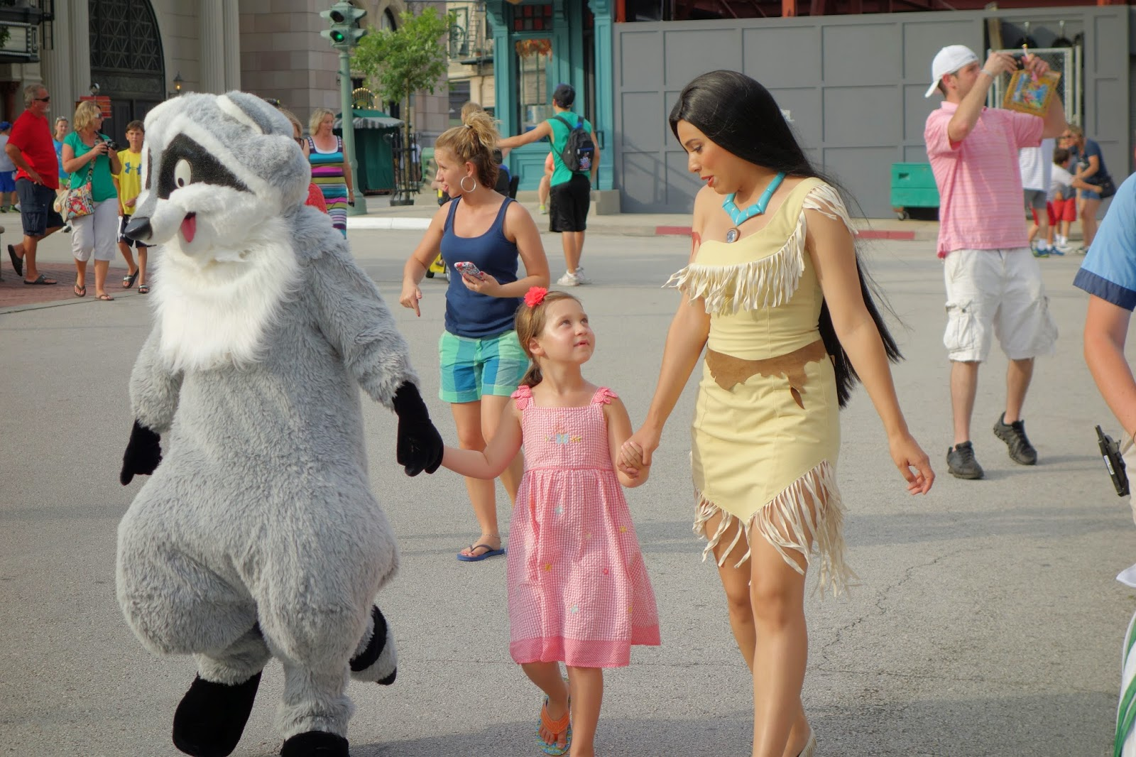Character Palooza da Disney - Pocahontas