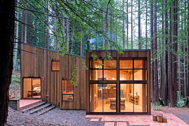 Casa en sea ranch frank architects arquitectura y for Schierandosi casa di ranch