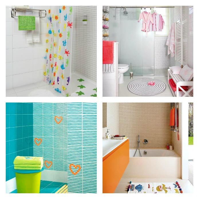 Ideas para decorar el baño de los niños