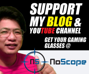 NoScope Gaming Glasses