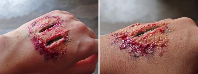 Como fazer ferimentos com maquiagem