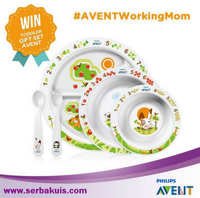 Kontes AVENT Working Mom Berhadiah 6 Toddler Gift Set AVENT
