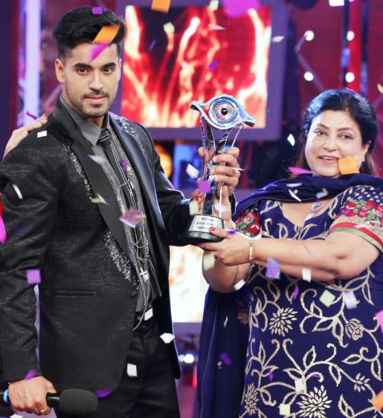 Gautam Gulati and his mother