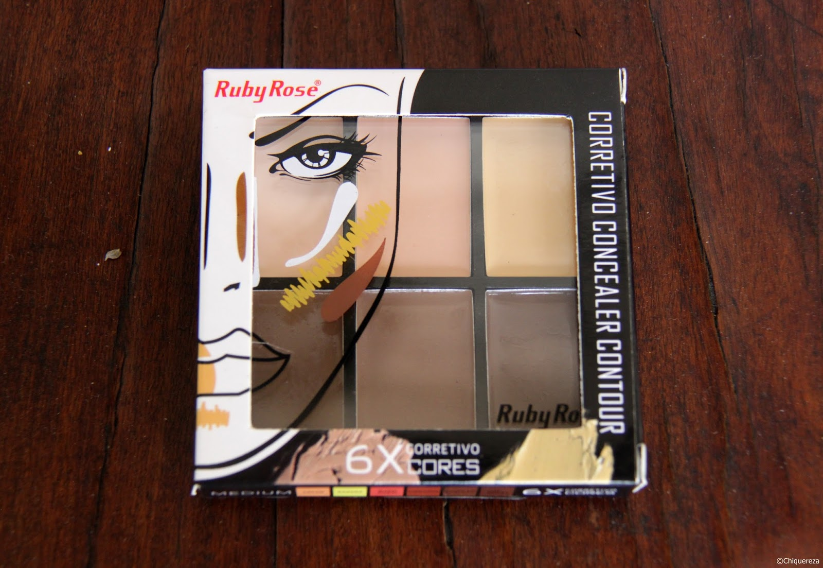Paleta de corretivo Ruby Rose Light