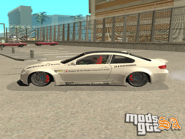 BMW M3 E92 2013 Liberty Walk Performance para GTA San Andreas