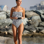 Lucy Mecklenburgh –Hot Swimsuit Candids in Dubai