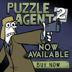 Grickle things: Puzzle Agent 2!!! Download it NOW!