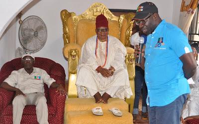 Obaseki Visits Okumagbe of Weppa-Wanno