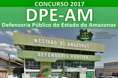 Concurso DPE-AM 2017