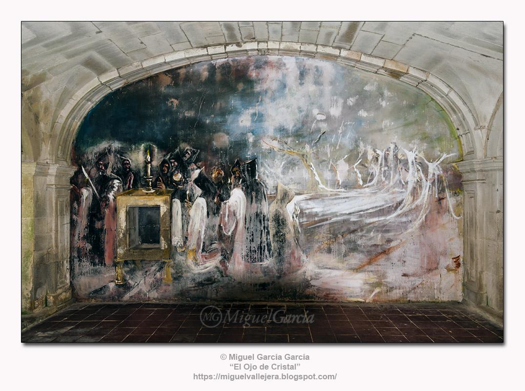 Pintura mural del Monasterio de Santa María de Sobrado dos Monxes