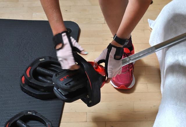 Meine neuen Fitnesshandschuhe