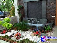 Desain Kolam Kecil Taman Belakang Dan