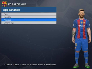 Patch Tattoo PES 2017