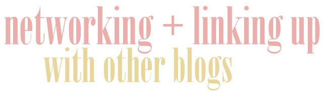 Thoughts on networking and linking up with other blogs: what is worth your time and effort?