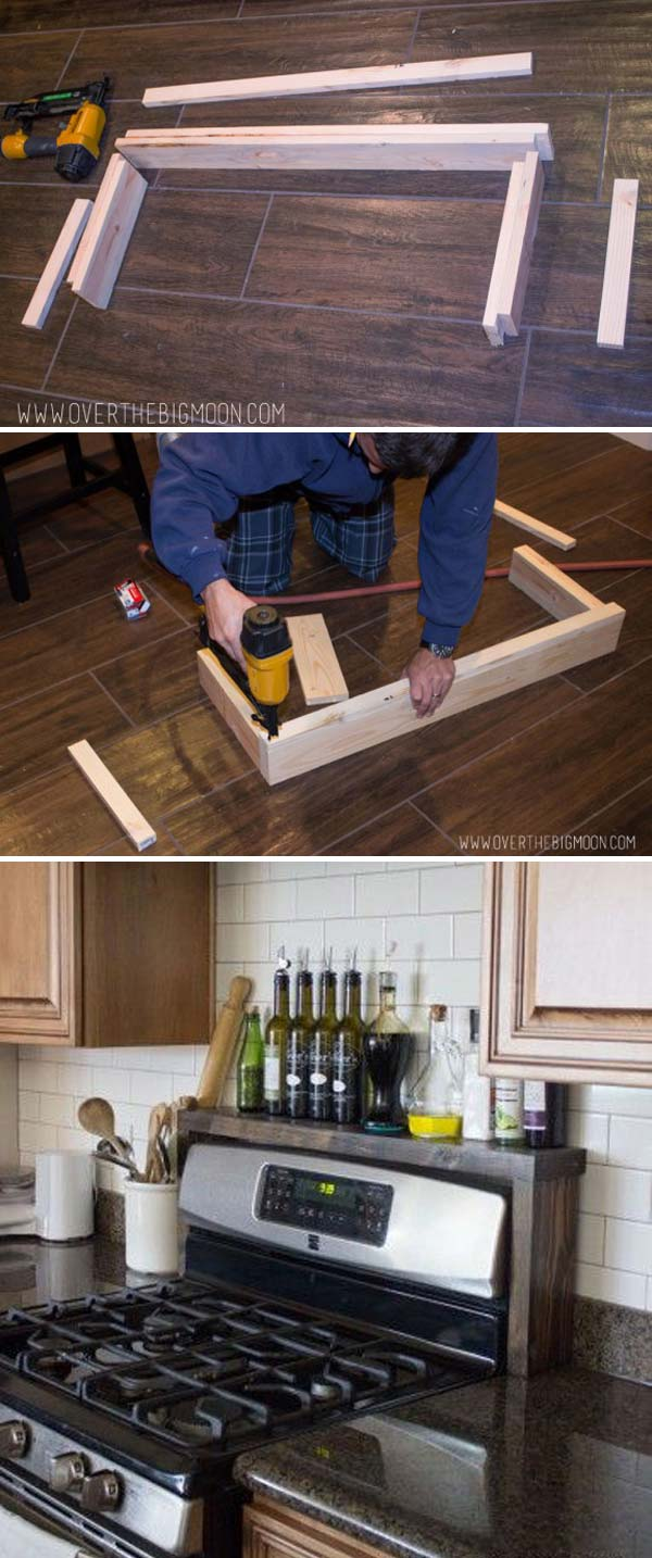 Creative And Practical Shelving Ideas For Your Kitche