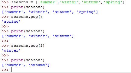 Selenium using python: My Python Notes-->(List & List